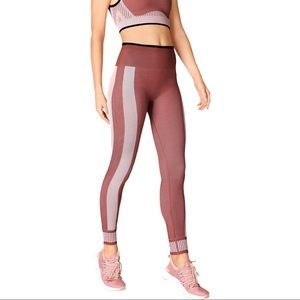Fabletics High Waisted Seamless Colorblock Legging
